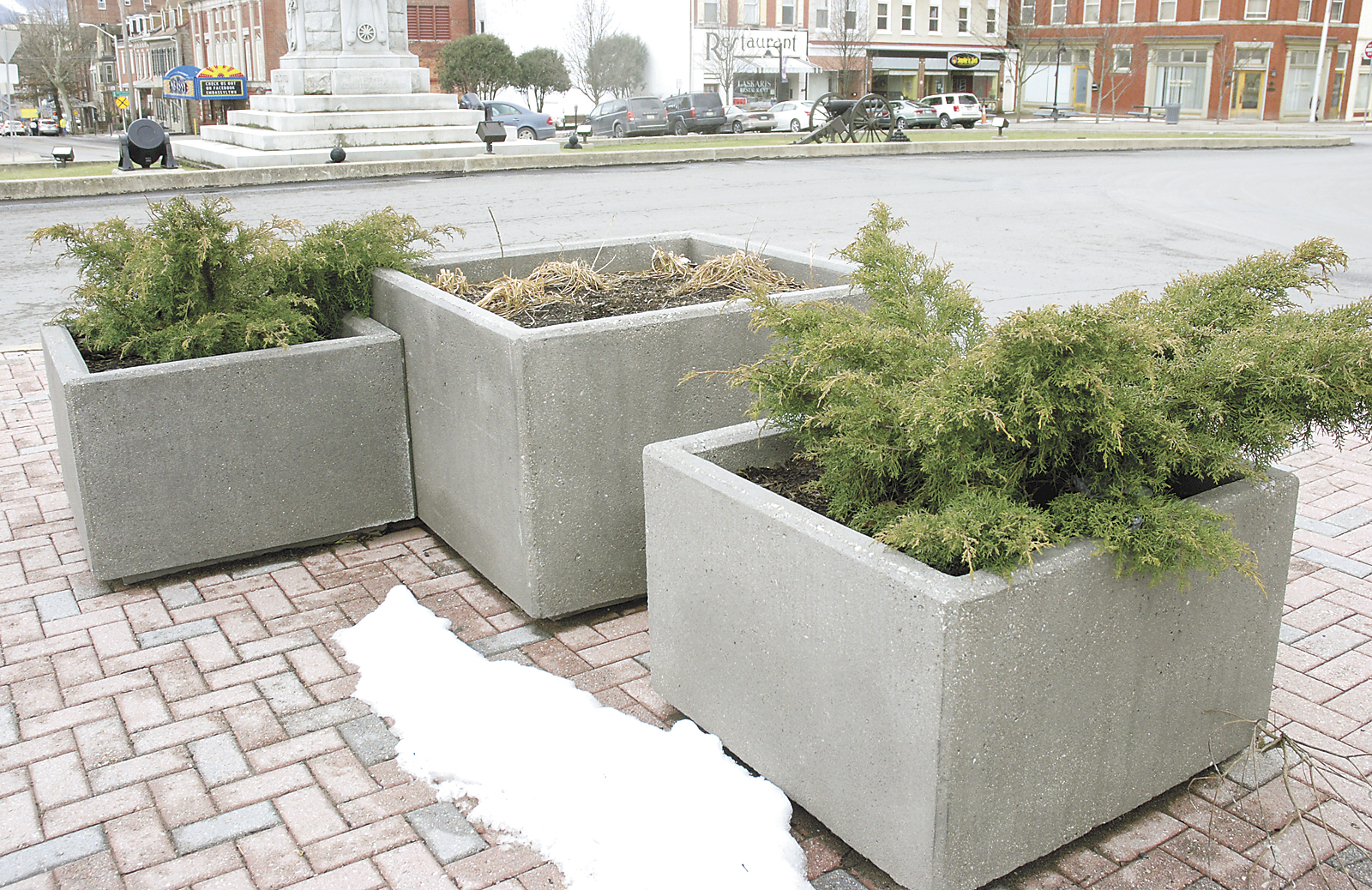 Concrete Planters | News, Sports, Jobs - The Sentinel
