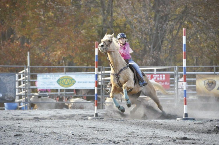 Submitted photo Emily Kline, 18, Richfield, is one of two local teens who has qualified to compete in the 2017 National High School Rodeo Association.