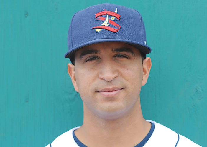 Photo provided by STATECOLLEGESPIKES  Former State College Spikes manager Oliver Marmol has been a member of the St. Louis Cardinals' coaching staff, serving as a first base coach this season.