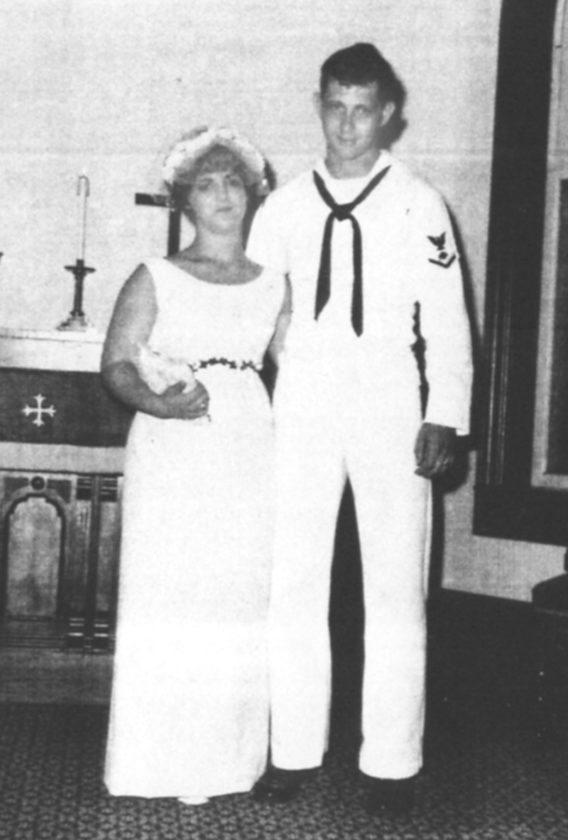 Mr. and Mrs. John R. Johnson Sr. ... then