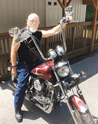 Photo submitted by JUSTIN KLINE Pastor Jerry Conley, founder of Midnight Riders ministry, is spearheading the Freedom Run, an event  that will involve several motorcyclist groups and address the heroin epidemic.