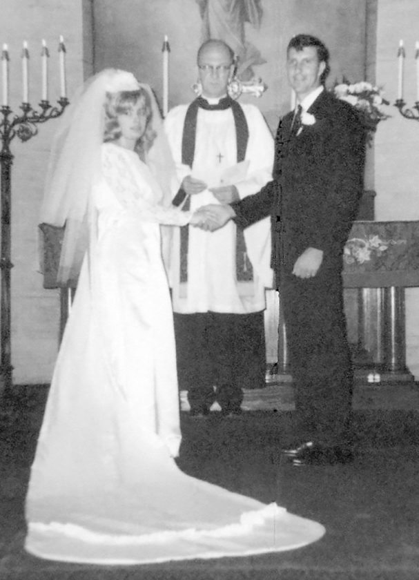 Mr. and Mrs. Gary D. Ritchey Sr. ... then