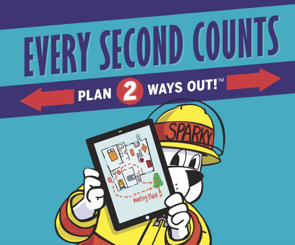 What fire departments are doing during Fire Prevention Week