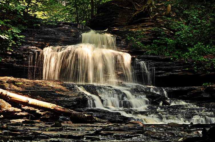 Sentinel photo by ZACH KNEPP Onondaga Falls at Rickett's Glen State Park