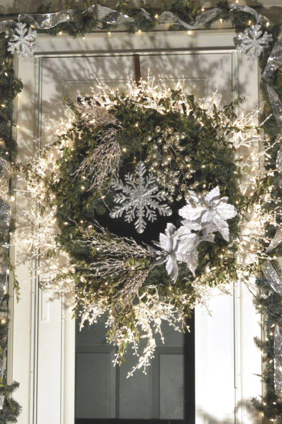 Photo courtesy Sara Buffington, Mifflin County Garden Club Best Wreath Blue Ribbon Nancy Charles, 23 Chestnut St., Lewistown