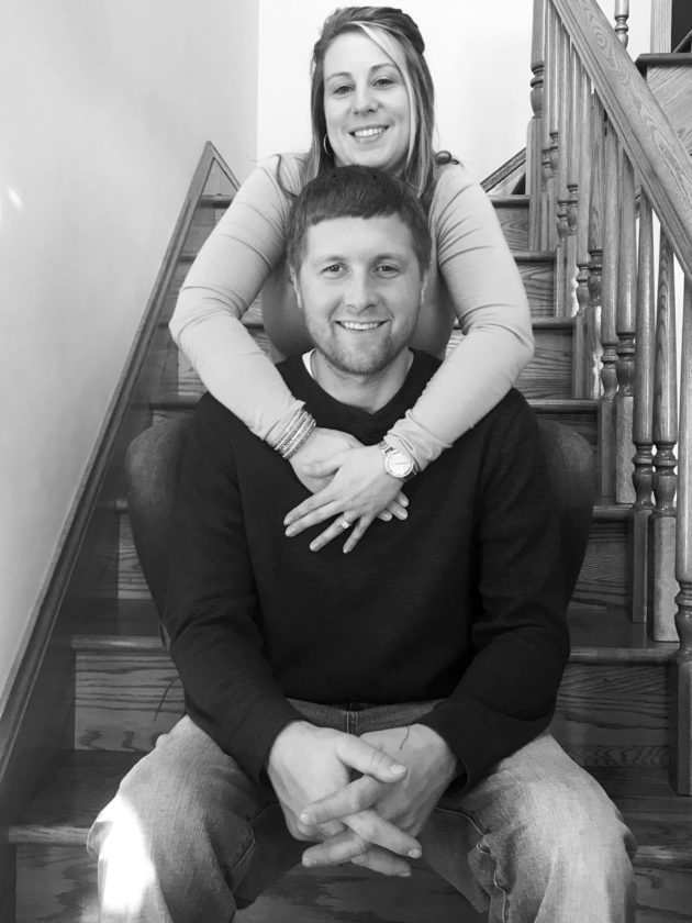 Jessica Casner and Zachary Hartley