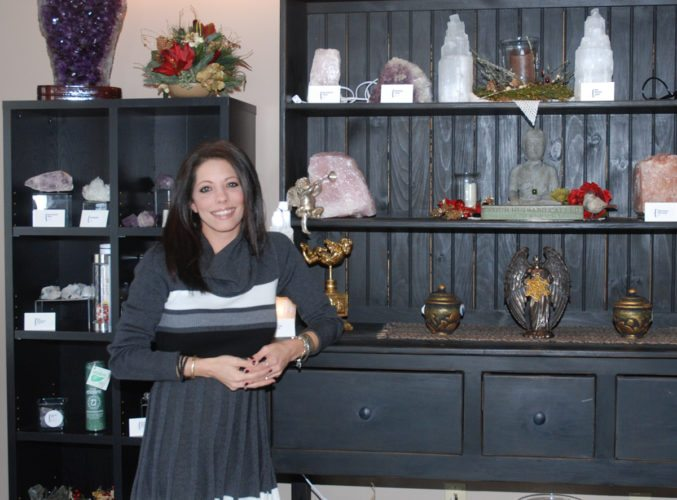 Sentinel photo by BUFFIE BOYER Kara Goss, owner of The Atlantean Ascension Center, is ready to help the community with awakening and the ascension process at her Strodes Mills location. The gift store 'Angels Gifts and Mohr' is also open to provide crystals and more.