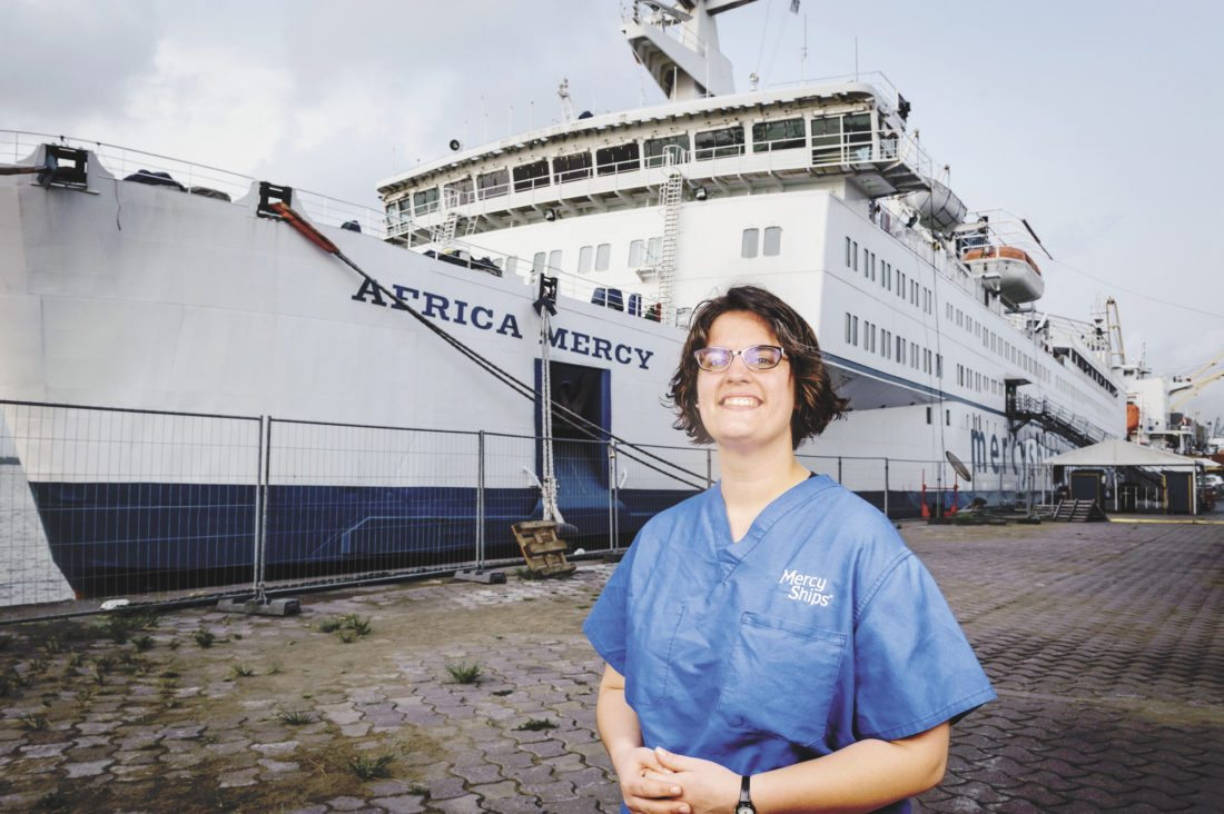 Local rn assists in surgery on hospital ship in cameroon news nurse at geisinger lewistown hospital is about to board the africa mercy one of four nautical hospitals commissioned by the mercy ships organization stopboris Images