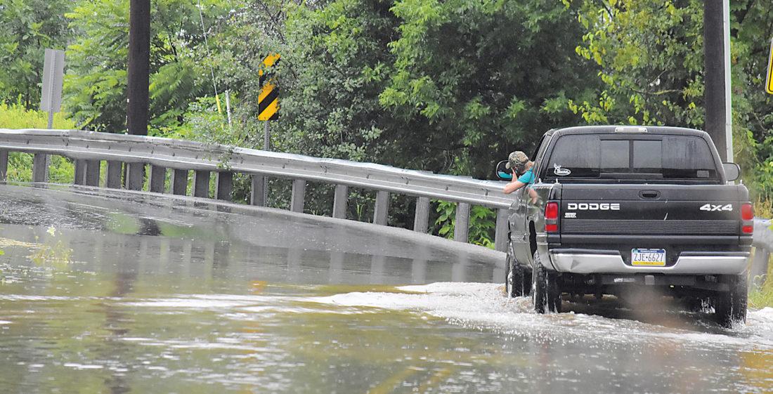 Heavy Rain Brings Flood Waters To Pa News Sports Jobs The Sentinel