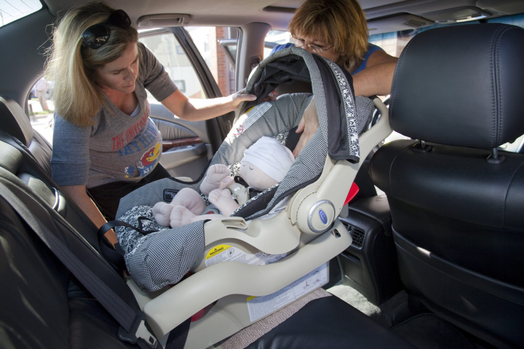 Car Seat Installation Checks Reveal Large Number Of Children Not Being Safely Restrained