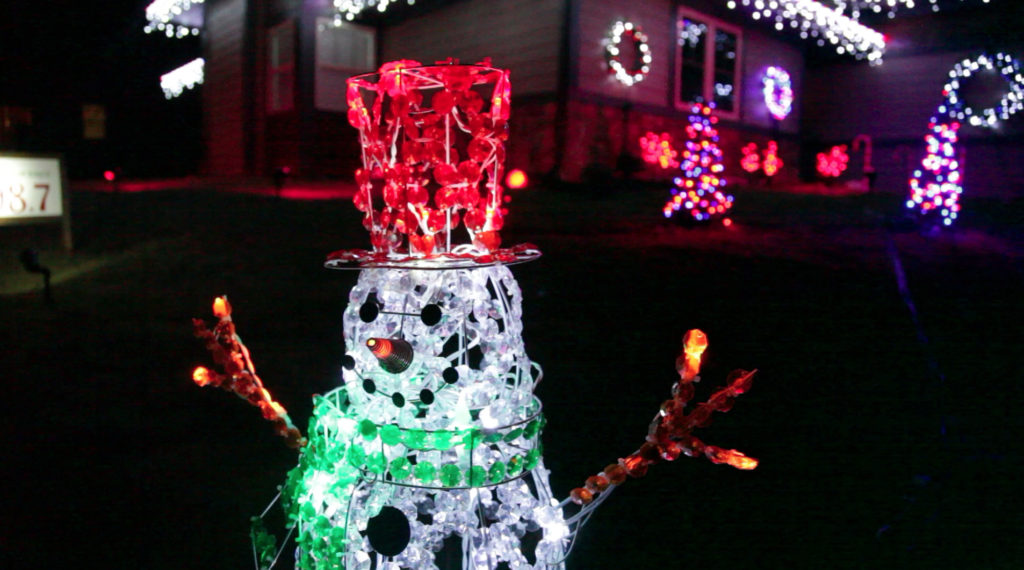 lawrence mans extreme passion for christmas illuminates the whole neighborhood news sports jobs lawrence journal world news information
