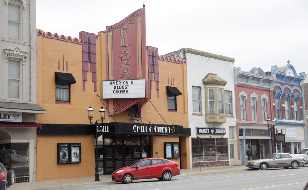 The Plaza Grill And Cinema In Ottawa, 209 S. Main Street, Was Recently  Discovered To Be The Oldest Operating Cinema In America, Revealed In A  Recent ...