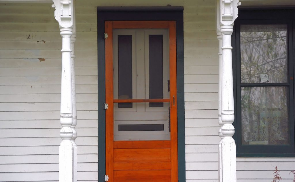 Install A Wooden Screen Door