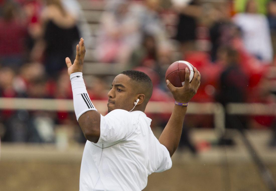 Photo Gallery Ku Football V Texas Tech News Sports Jobs Hand Grip Kansa Busa By Nick Krug