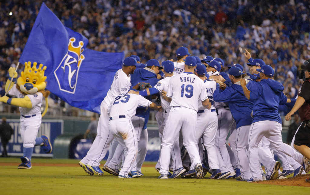 Royals Sweep Past Angels Back Into ALCS After 29 Years