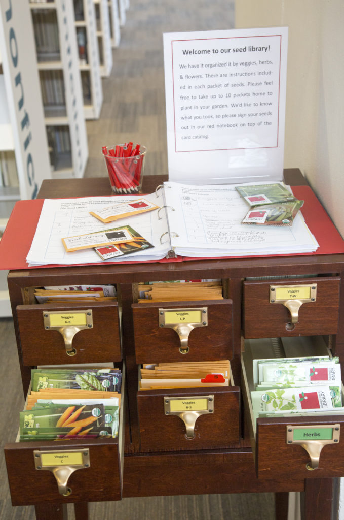 Garden Variety Check Out Some Seeds At The Library News Sports