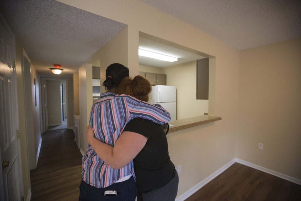 a second chance lawrence family moves out of shelter into