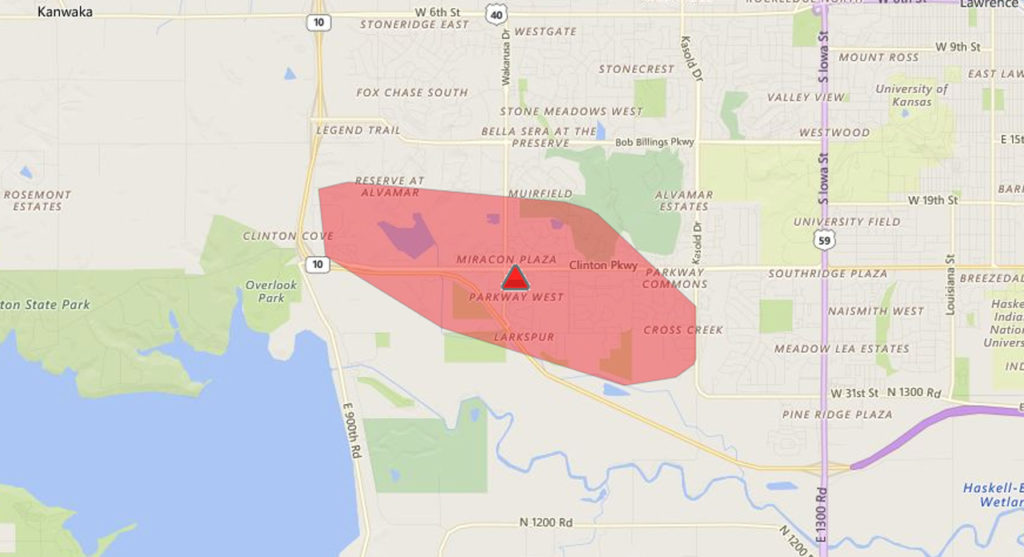 Westar Reports Nearly 2 500 Customers Without Power In Southwest