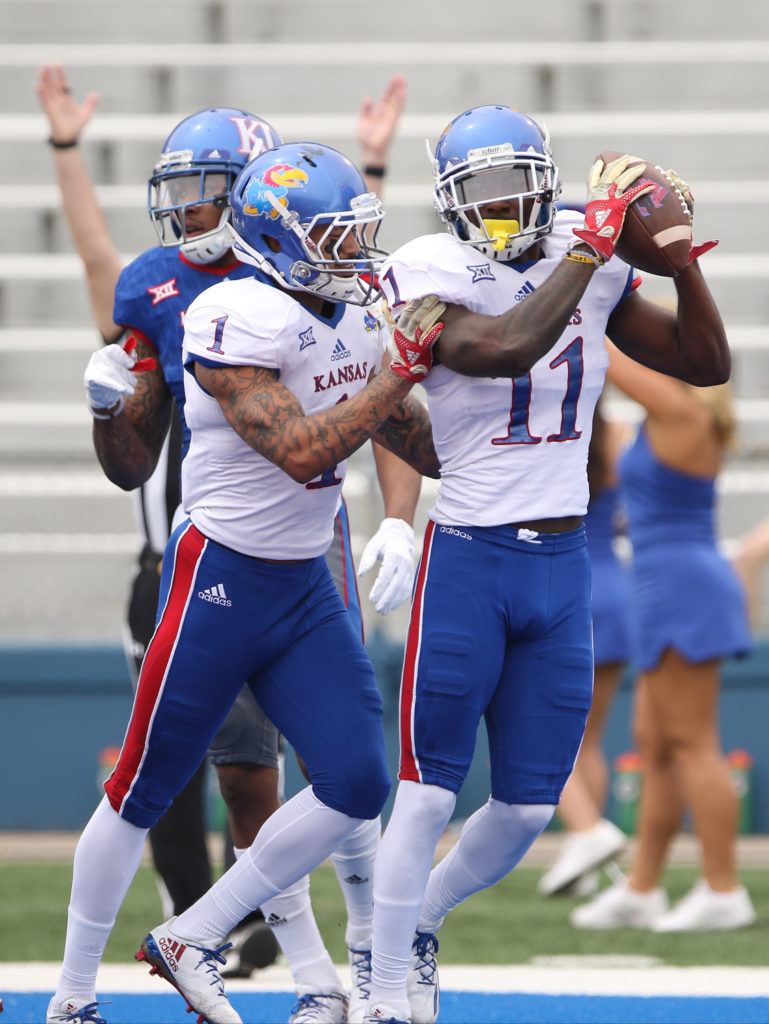 Receivers Rule Day At Kansas Football Spring Game News Sports