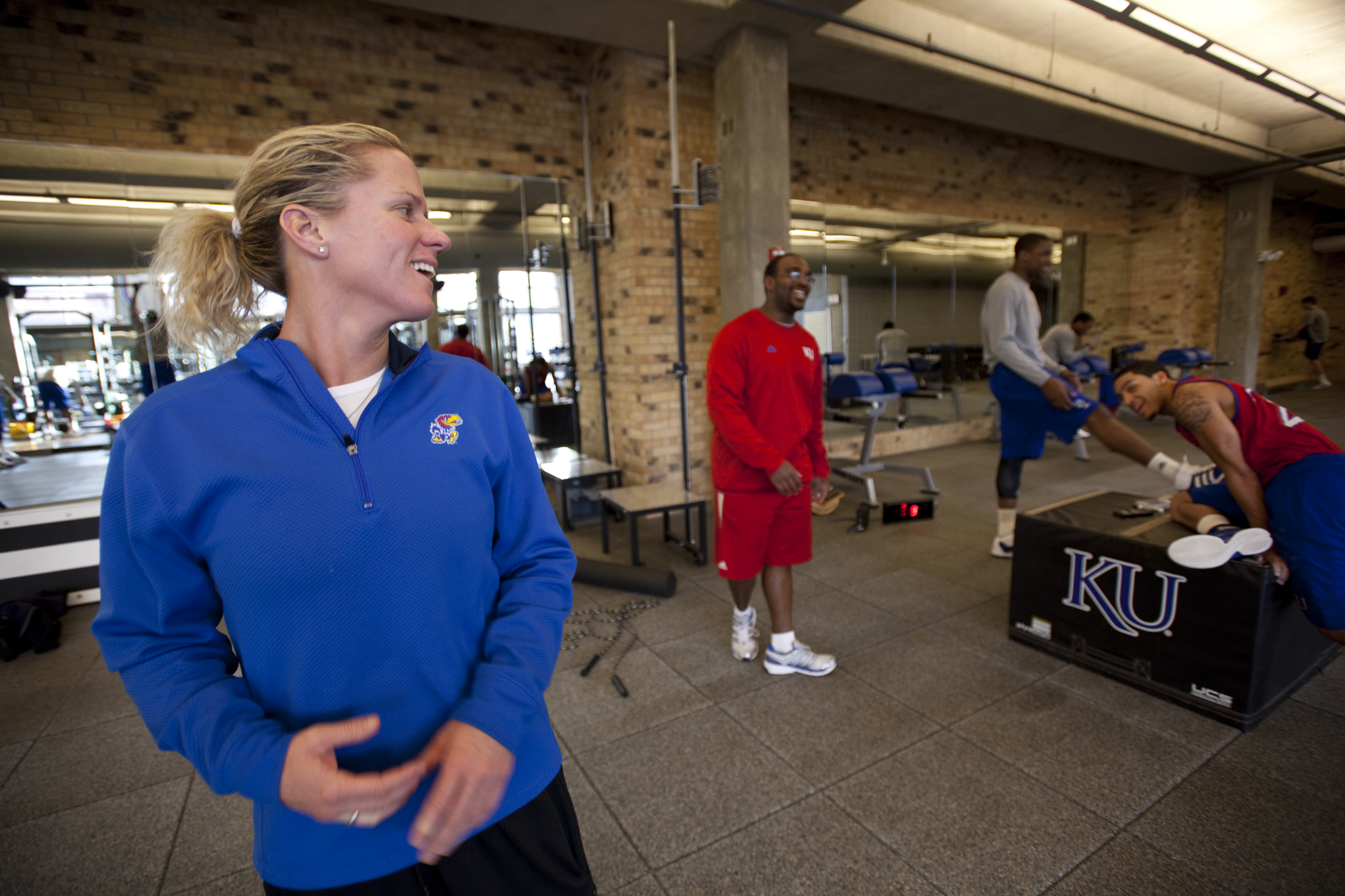 In the Gym With Andrea Hudy, KU Strength Coach picture