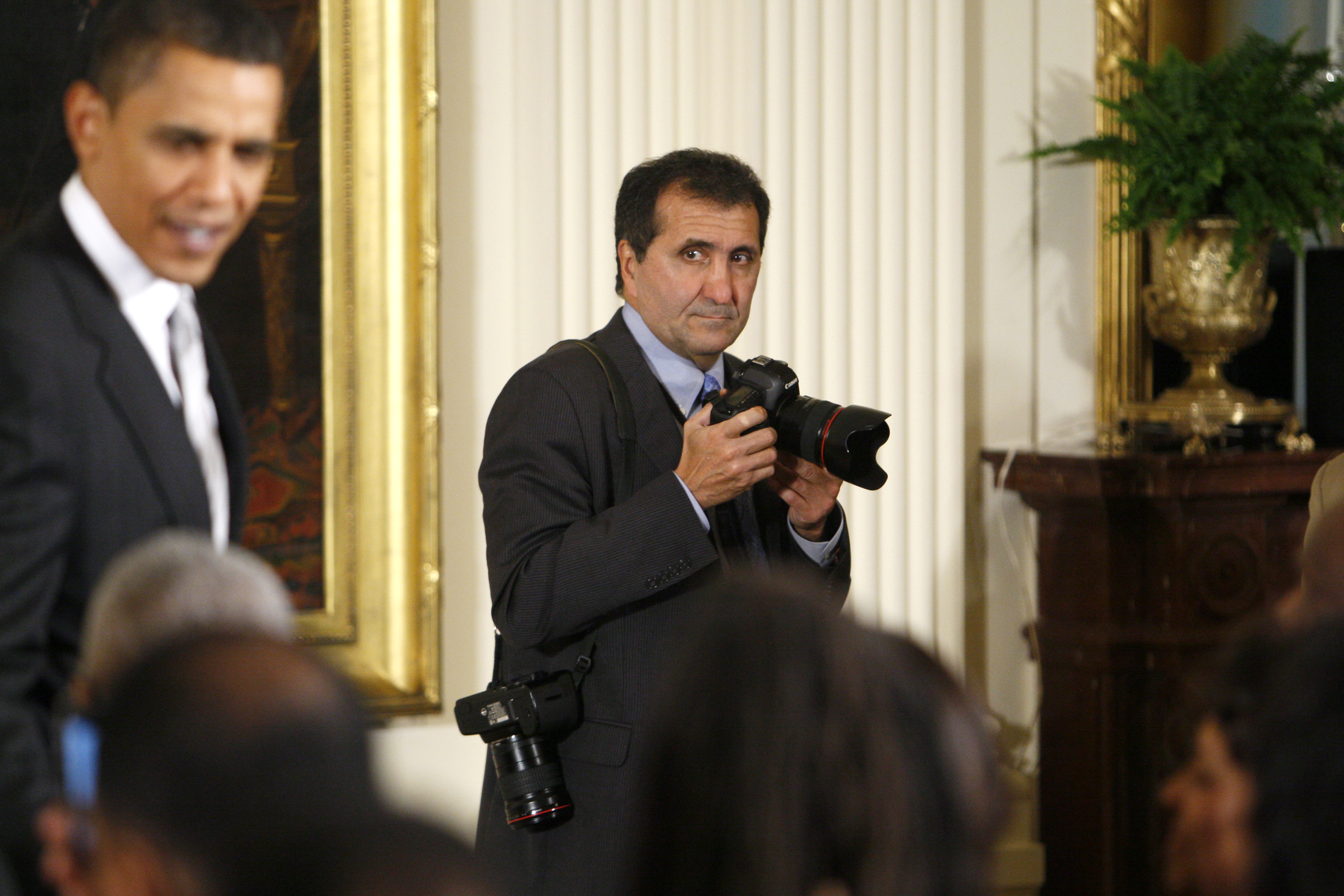 In advance of Lawrence visit, former White House photographer Pete ...