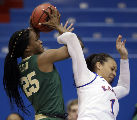 KU women's basketball team handed 94-68 loss by No. 2 ...
