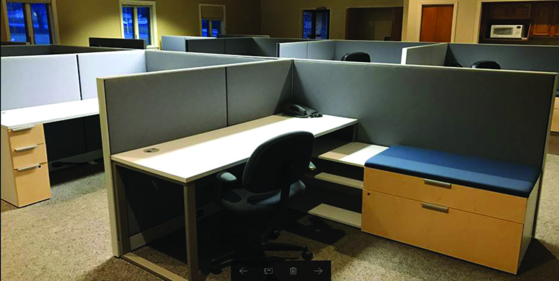 Beau PHOTO PROVIDED SpringBoard Business Incubator Will Have 10 Of These  Workstations, Which Include Filing Cabinets And Cubicle Walls.
