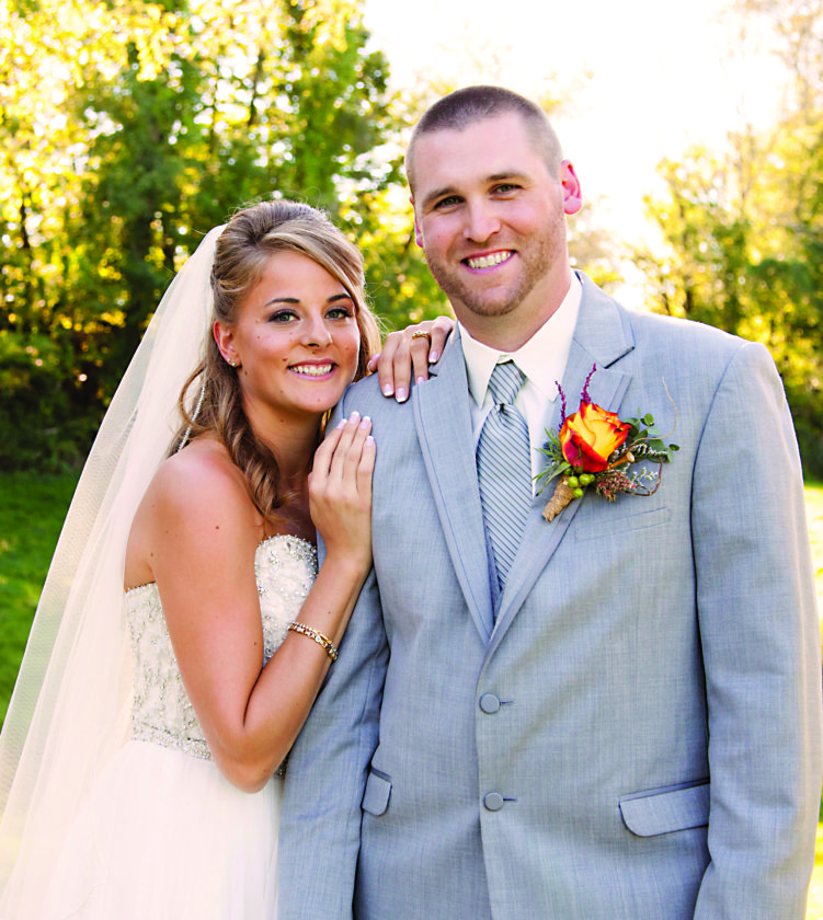 Mr. and Mrs. Joseph J. Simon (Miranda Sue Fink)