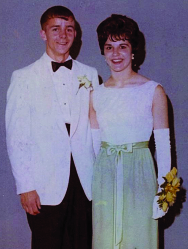 PHOTOS PROVIDED Bill and Esther Kramer are shown at their high school prom.