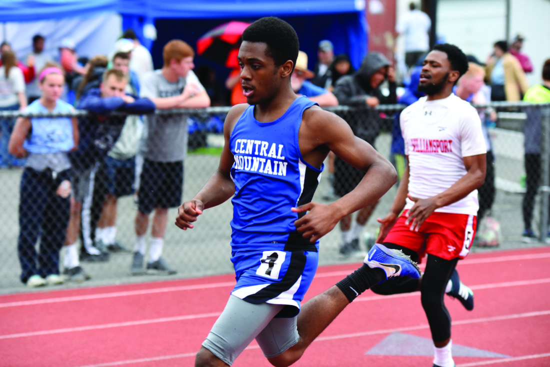 Central Mountain, Bellefonte, Jersey Shore compete at LHU Track Invitational | News, Sports, Jobs - The Express