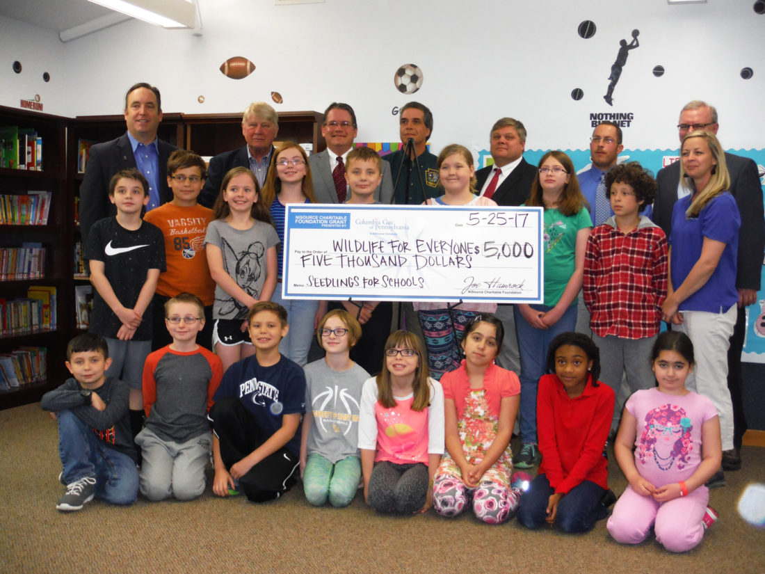Seedlings For Schools Gets Boost From Columbia Gas
