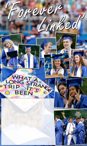 Students are seen during last night's commencement ceremony at Central Mountain High School. SPENCER McCOY/THE EXPRESS