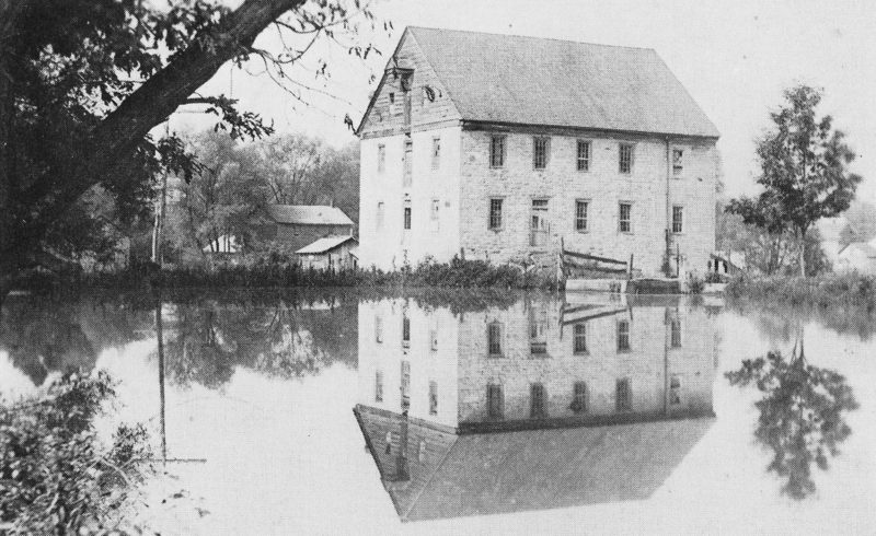 "PHOTO PROVIDED The old mill in Salona is seen about 1910. This photograph by Max Miller appears in Charlotte M. Knapp's ""History of Salona, Clinton County, Pennsylvania,"" published in 1976. James D. Frank is credited for providing the photo for the history book."