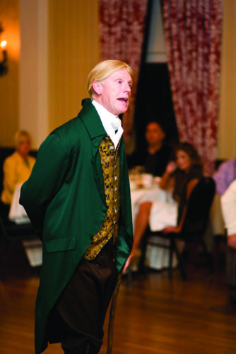 PHOTO PROVIDED Tom Pitz will portray Thomas Jefferson during a free program Thursday evening at the Taber Museum in Williamsport.