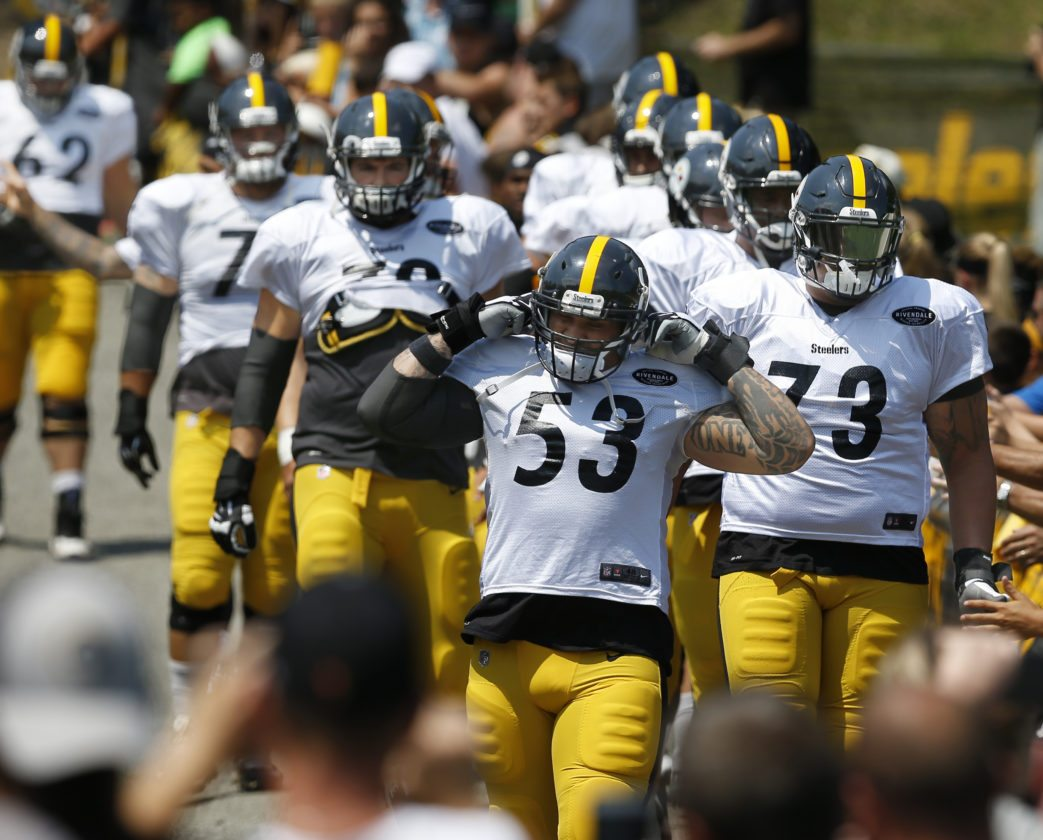 Continuity and chemistry key for Steelers offensive line
