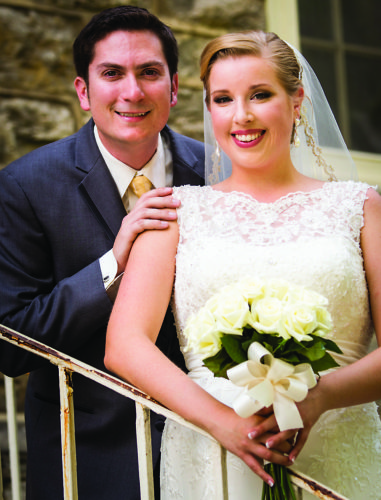 Mr. and Mrs. Thomas Robillard (Hayley Andrews)