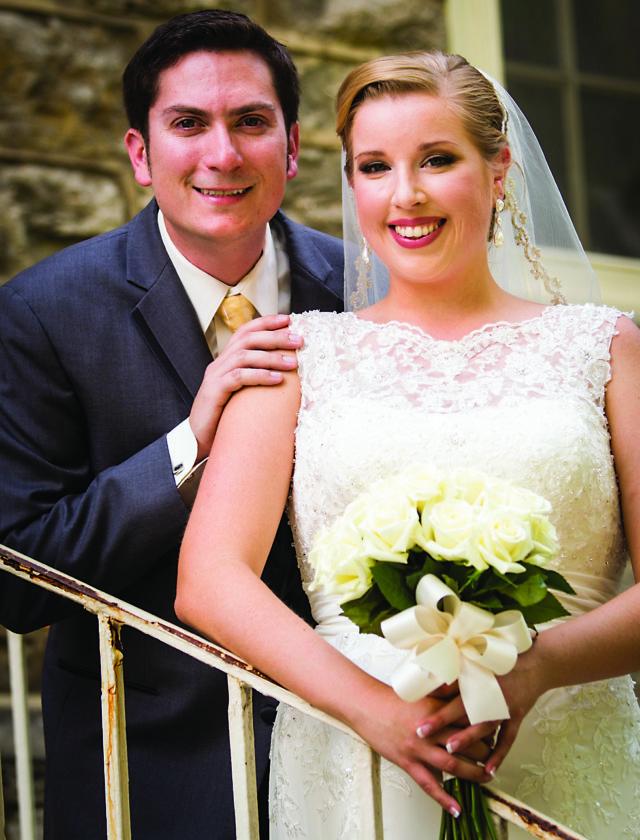 Mr. and Mrs. Thomas Robillard (Hayley Andrews)