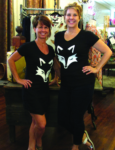 Wendy Hockenberry (left) and Joyce Mills could not be happier to be living their dream of serving Bellefonte with a one-of-a-kind clothing boutique.