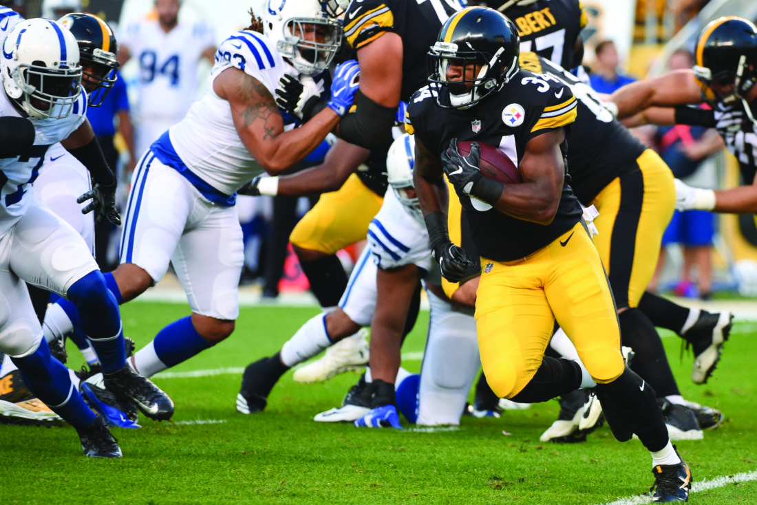 Late pick tarnishes Steelers backup QB Jones' return in loss to Colts