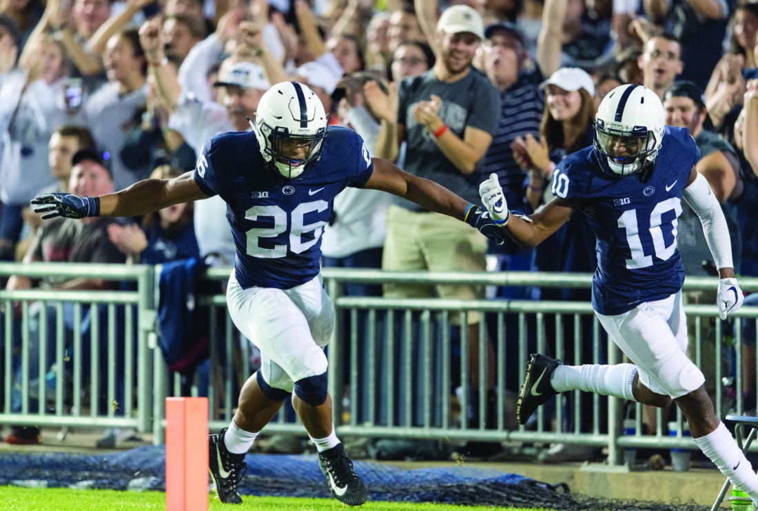 McSorley leads No. 5 Penn State in rout of Georgia State
