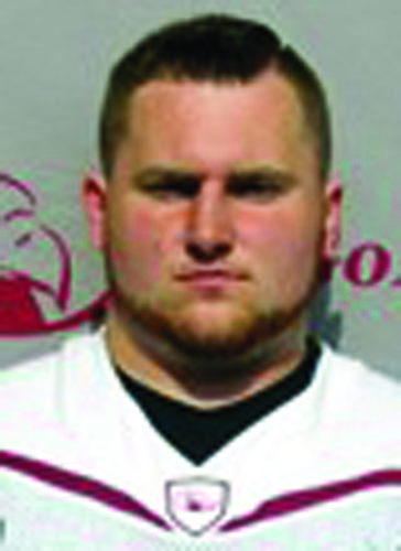 Hunter Shoemaker is a Central Mountain High School  alumni and Lock Haven University football player. (Photo Provided)