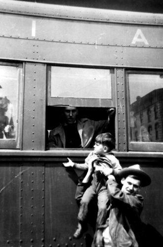 Bellefonte train goodbye