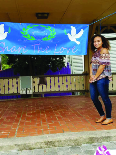 """Join Olivia McGhee and """"Share the Love"""" by  donating soup, cereal and children's books for Mill Hall youngsters.   PHOTO  PROVIDED"""