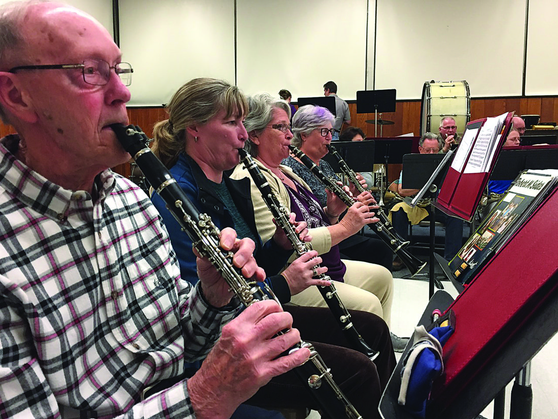 PHOTO PROVIDED The Central Pennsylvania Community Band will present a free concert at 7:30 p.m. Monday in the Central Mountain Middle School auditorium.