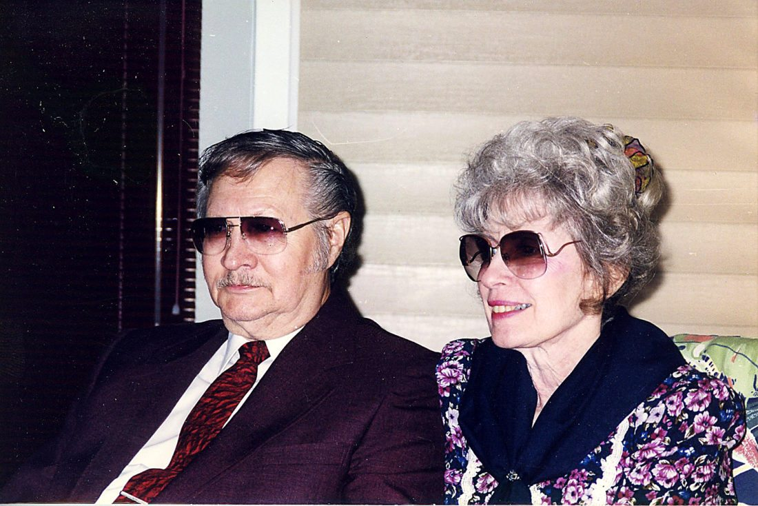 PHOTOS PROVIDED Harry and Mildred Miller, seen in a recent picture, celebrated their 60th wedding anniversary last Sunday.