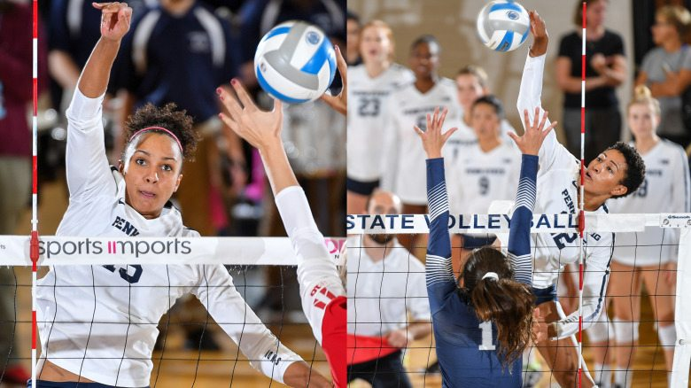Both the Big Ten Player of the Year and Defensive Player of the Year honors have gone to Penn State University. (Photo courtesy of Penn State Volleyball)