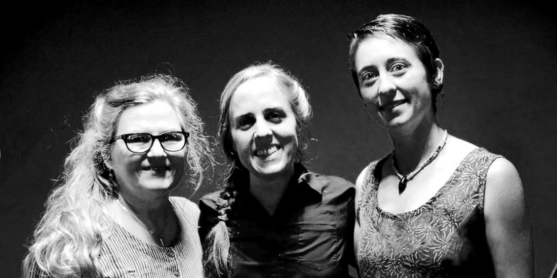PHOTO PROVIDED The Early Mays (Emily Pinkerton, Ellen Gozion and Rachel Eddy) will perform old-time style songs Saturday, Dec. 9 in the Center for Well Being in Lemont.