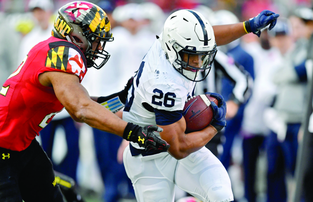 Penn State's Saquon Barkley wins three Big Ten individual honors