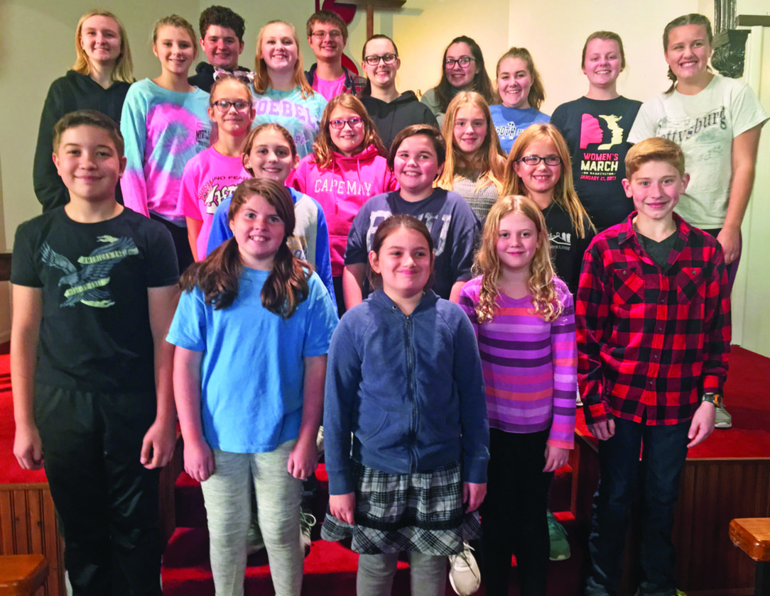 "PHOTOS PROVIDED Members of the Millbrook Playhouse Youth Ensemble, seen above, will present ""Annie Jr."" Dec. 15 to 17."