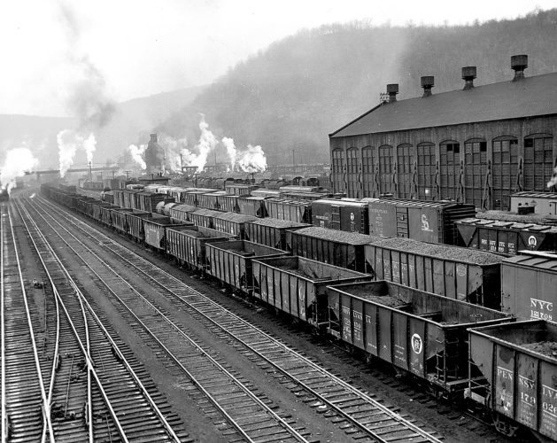 Renovo railroad shops